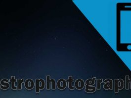 Astrophotography with smartphone camera