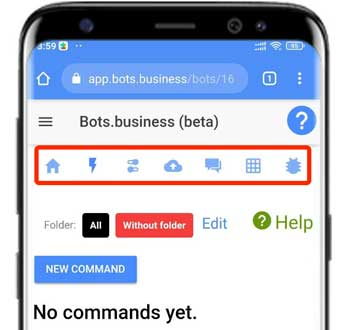refer and earn bot