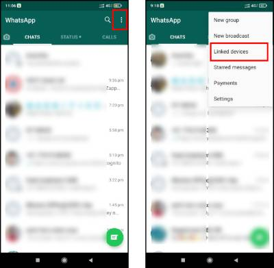 WhatsApp on Multiple Devices